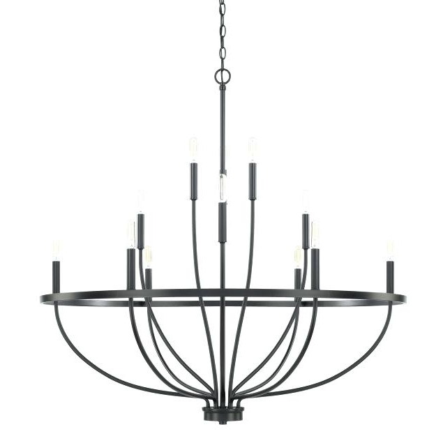 2018 12 Light Chandelier – Thangmay.co Within Vroman 12 Light Sputnik Chandeliers (Gallery 14 of 25)