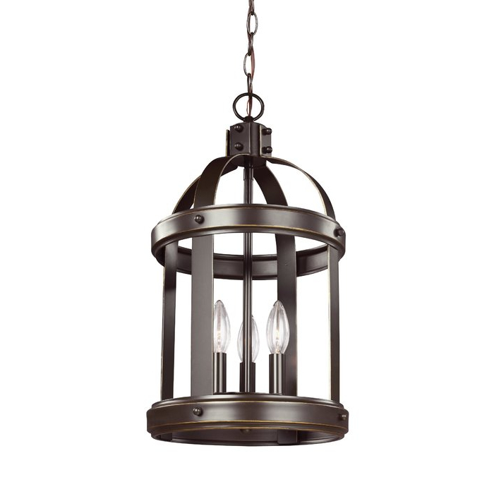 2018 3 Light Lantern Cylinder Pendants In Pawling 3 Light Lantern Cylinder Pendant (View 9 of 25)