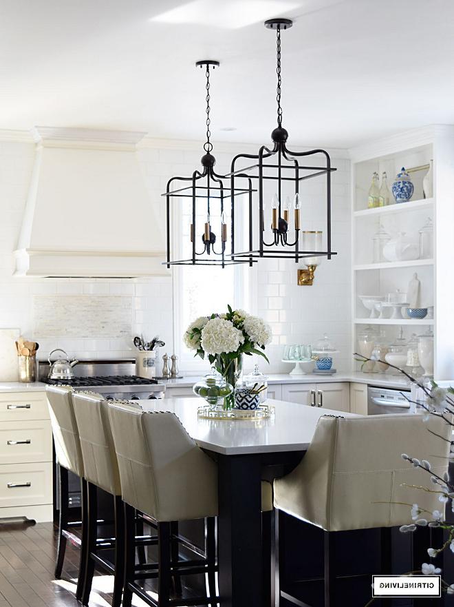 2018 Beautiful Homes Of Instagram – Home Bunch Interior Design Ideas With Varnum 4 Light Lantern Pendants (Gallery 21 of 25)