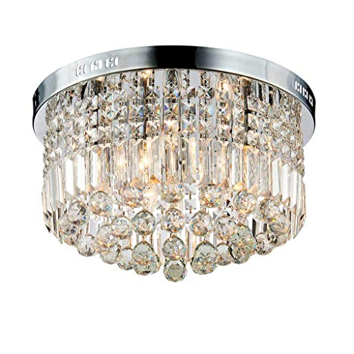 2018 Crystal Chandeliers Ceiling Lights: Amazon (View 22 of 25)