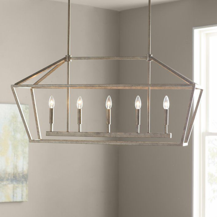 2018 Freemont 5 Light Kitchen Island Linear Pendant (View 16 of 25)