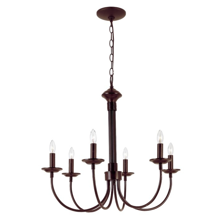 2018 Perseus 6 Light Candle Style Chandeliers Within Shaylee 6 Light Candle Style Chandelier (View 2 of 25)