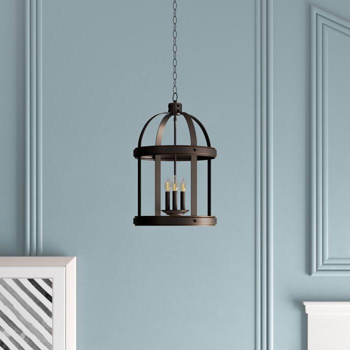 2018 Tessie 3 Light Lantern Cylinder Pendants In Pawling 3 Light Lantern Cylinder Pendant (Gallery 15 of 25)