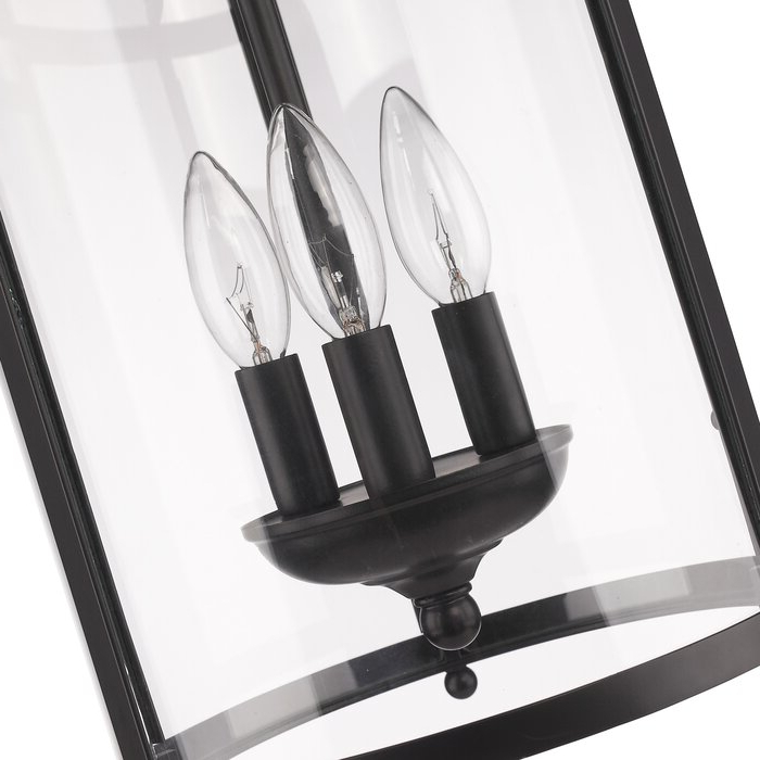 2018 Tessie 3 Light Lantern Cylinder Pendants With Regard To Tessie 3 Light Lantern Cylinder Pendant (Gallery 16 of 25)