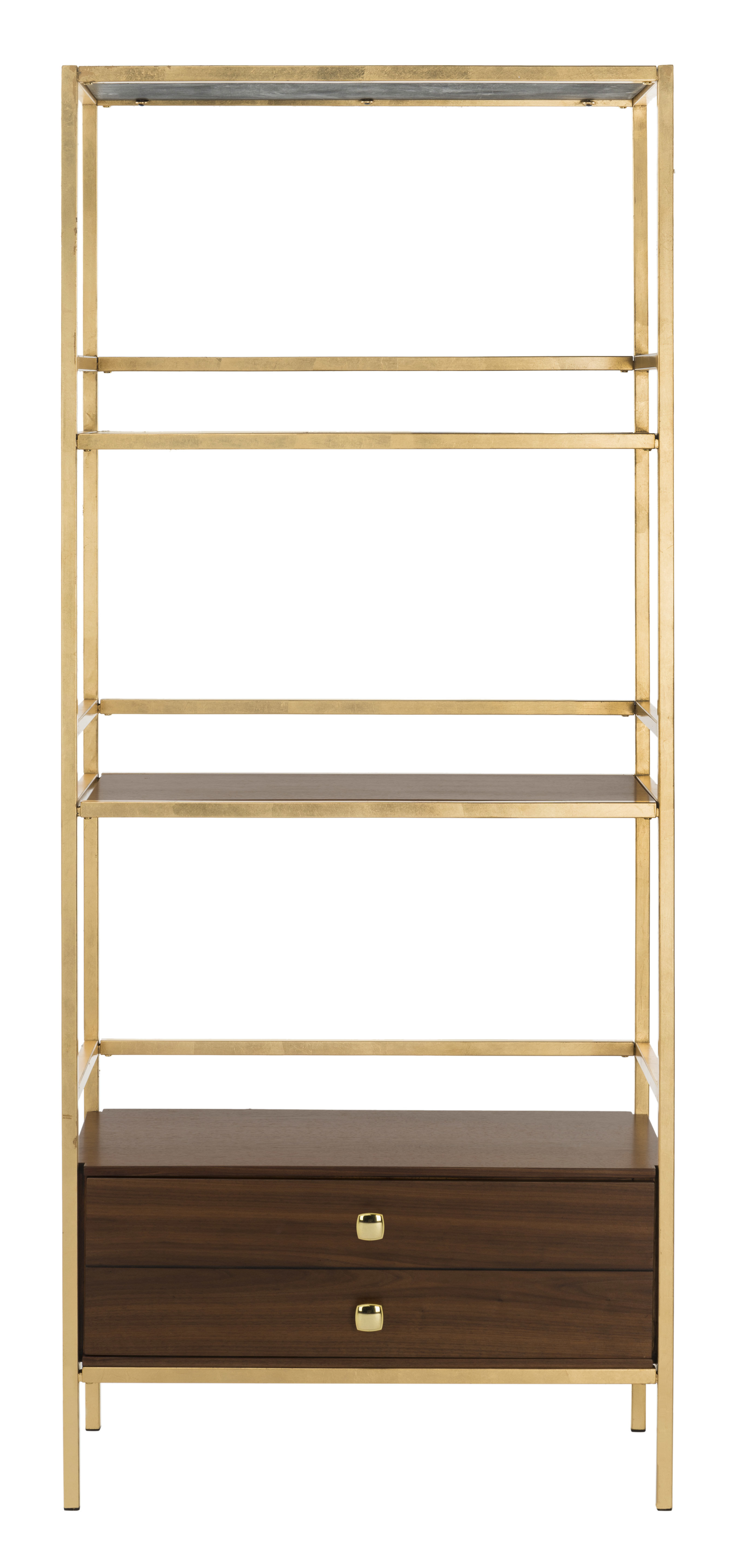 2019 Arrighetto 4 Tier Etagere Bookcase Intended For Rech 4 Tier Etagere Bookcases (Gallery 7 of 20)