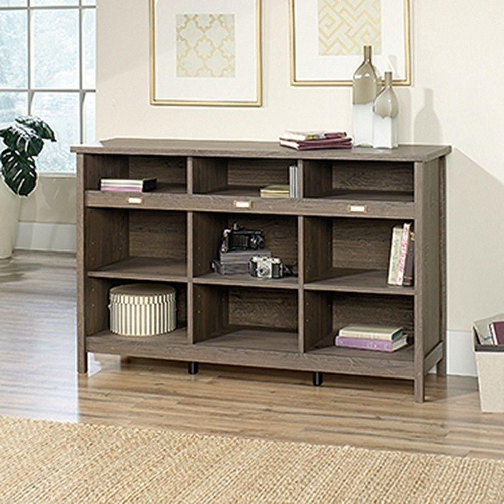 2019 Finkelstein Cube Bookcases In Sauder Adept Collection 36 1/4 In. X 58 1/4 In. 9 Shelf (Gallery 10 of 20)