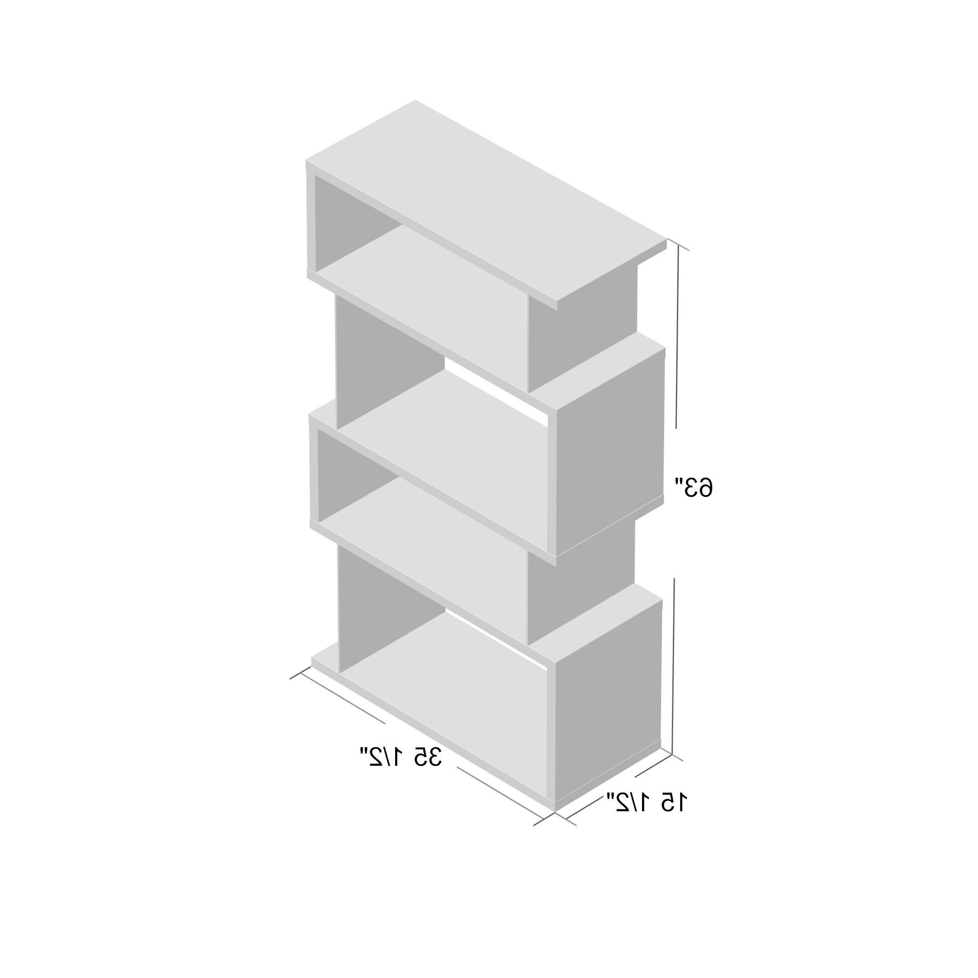 2019 Ignacio Standard Bookcases Intended For Brayden Studio Ignacio Standard Bookcase (View 1 of 20)