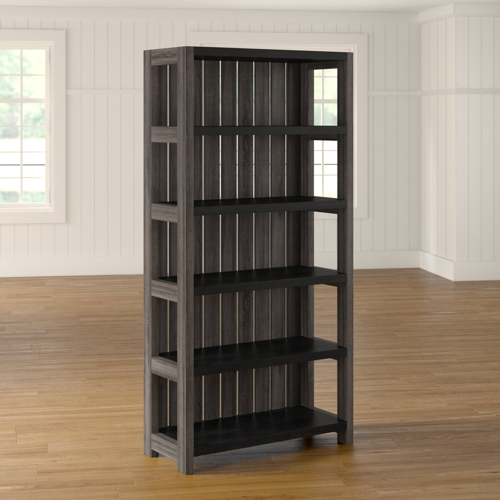 2019 Kelleia Standard Bookcase Throughout Moeller Standard Bookcases (View 6 of 20)