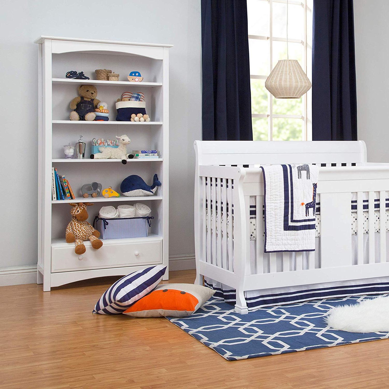 2019 Mdb Standard Bookcases For Davinci Mdb Book Case, White (Gallery 13 of 20)