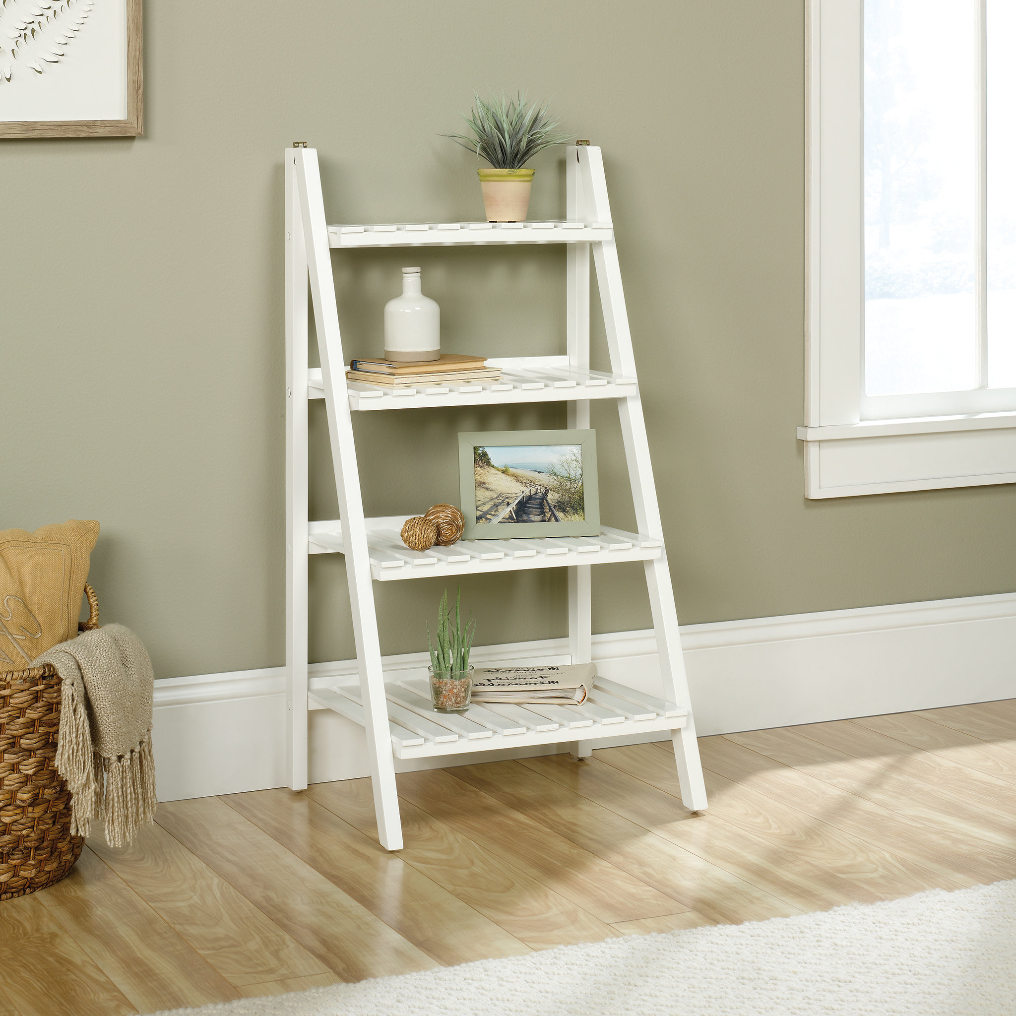 2019 Myrasol Standard Bookcases With Myrasol Ladder Bookcase (View 9 of 20)
