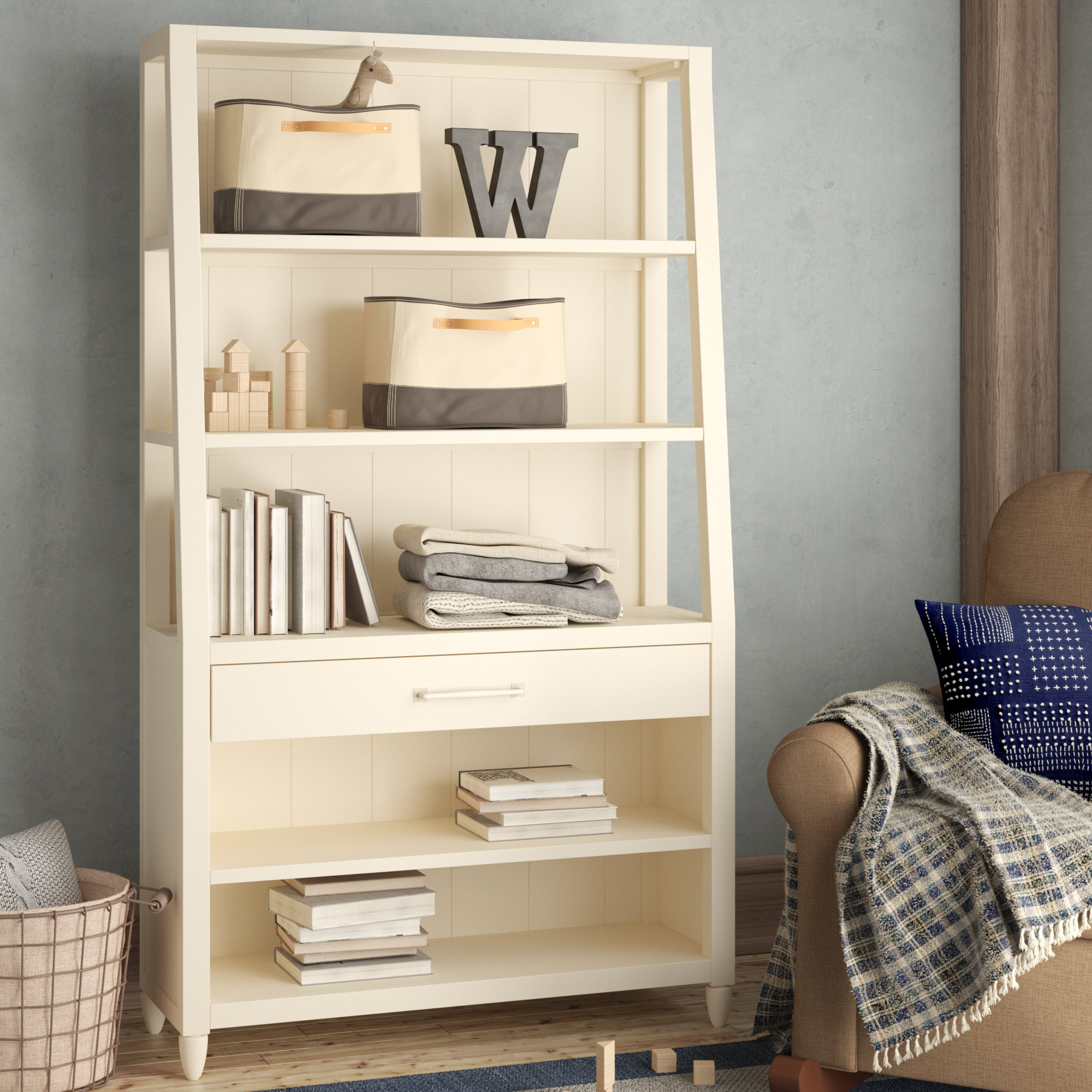 2019 Oridatown Standard Bookcases Intended For Affonso Standard Bookcase & Reviews (Gallery 10 of 20)