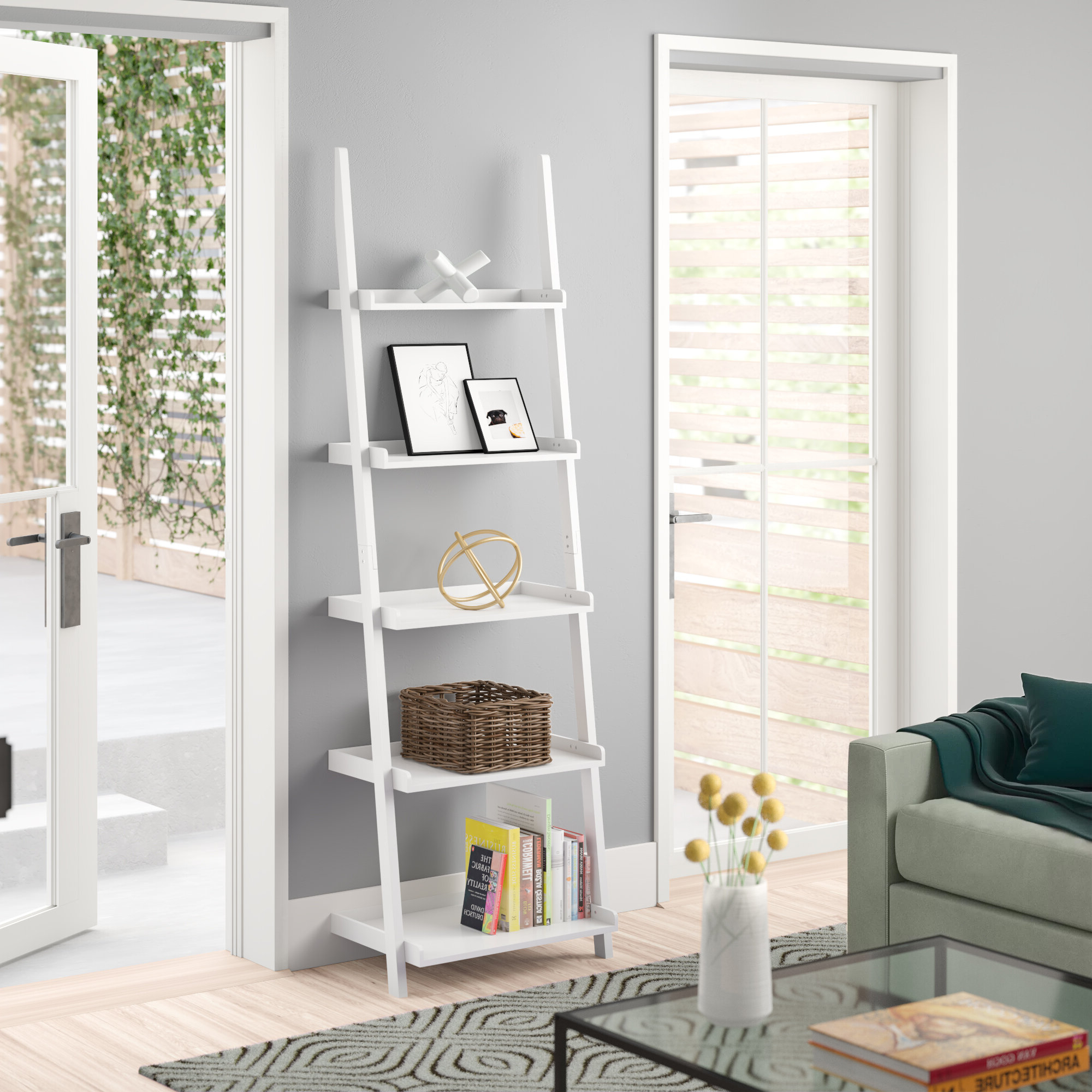 Featured Photo of Ricardo Ladder Bookcases