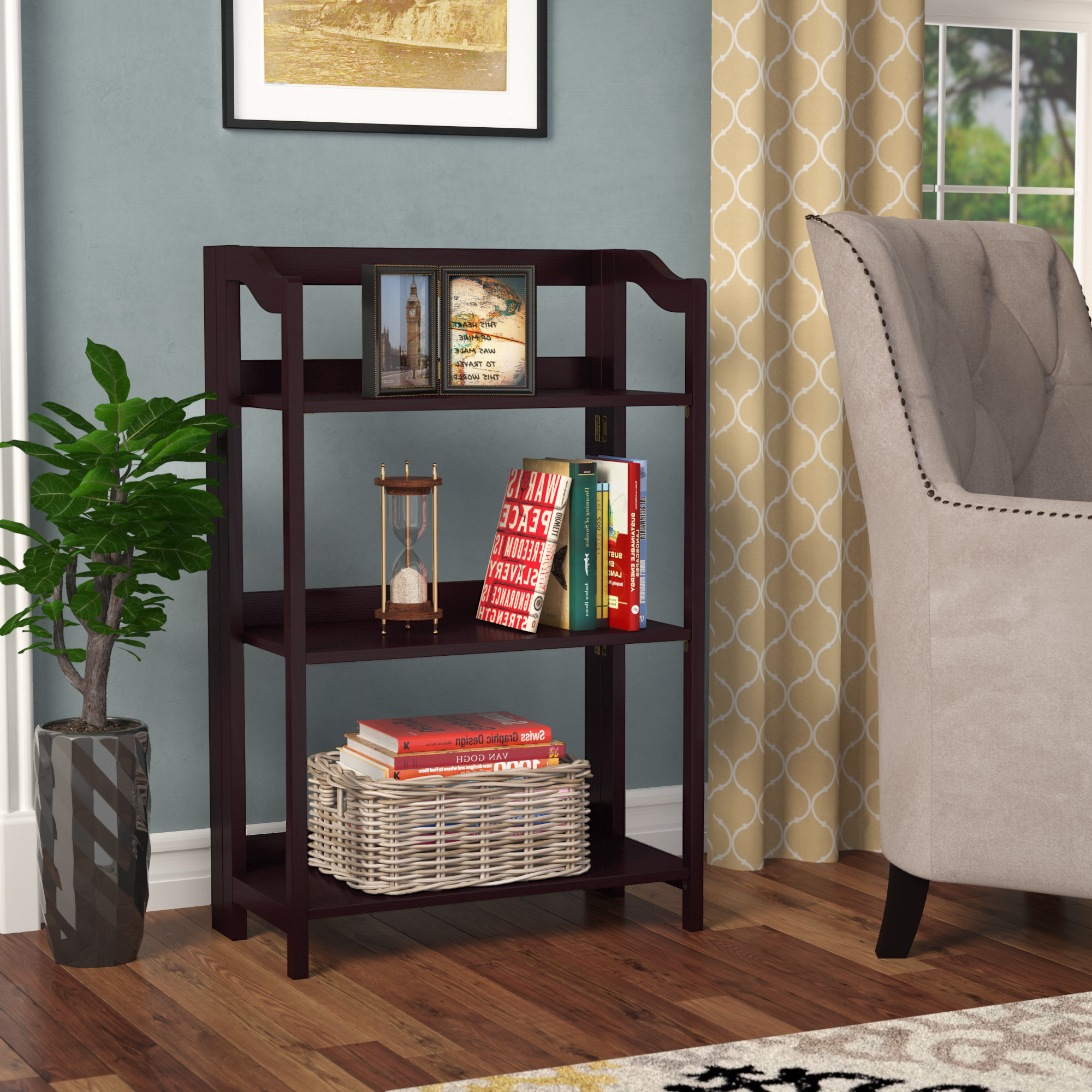 2019 Troy Etagere Bookcase With Regard To Annabesook Etagere Bookcases (Gallery 9 of 20)