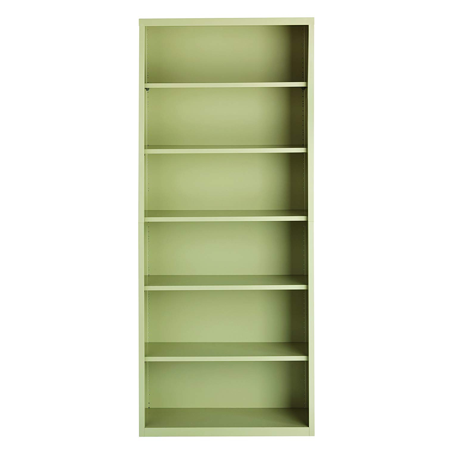 2020 Amazon: Office Dimensions Metal Office Bookcase 6 Shelf Intended For Martinsville Standard Bookcases (View 10 of 20)