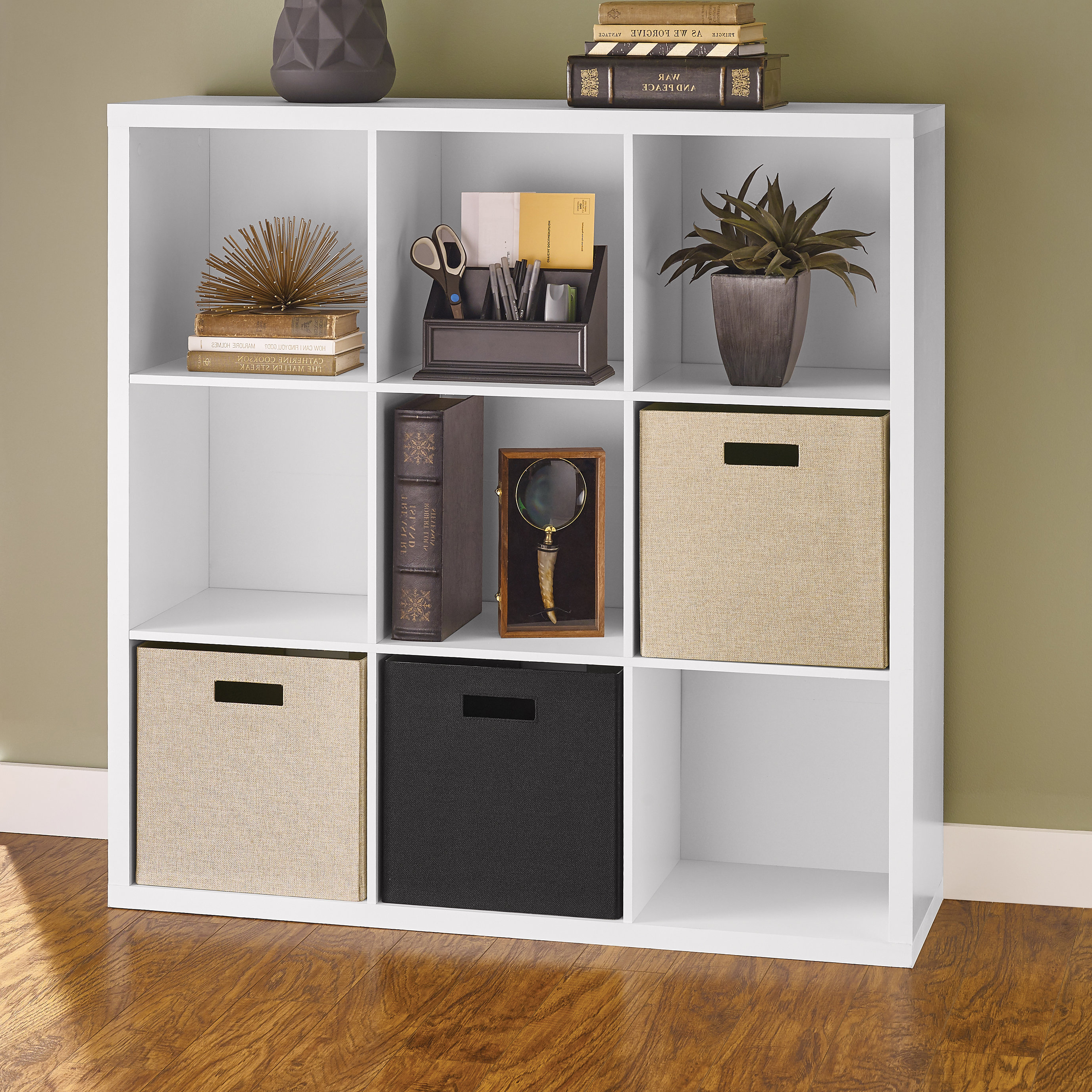 2020 Decorative Storage Cube Bookcases Inside Closetmaid Decorative Storage Cube Bookcase & Reviews (Gallery 3 of 20)