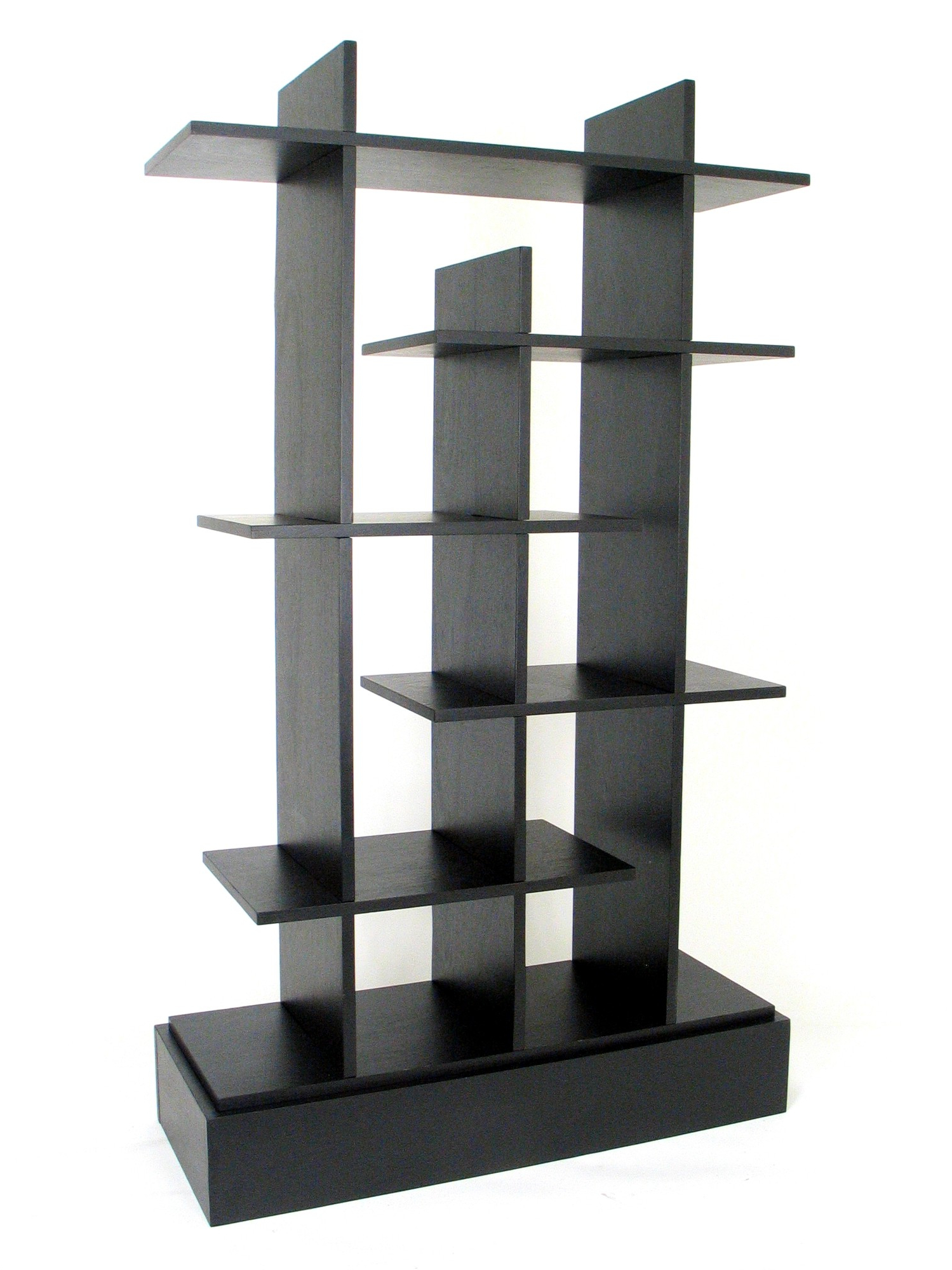 2020 Details About Latitude Run Nave Geometric Bookcase In Swarey Geometric Bookcases (View 1 of 20)