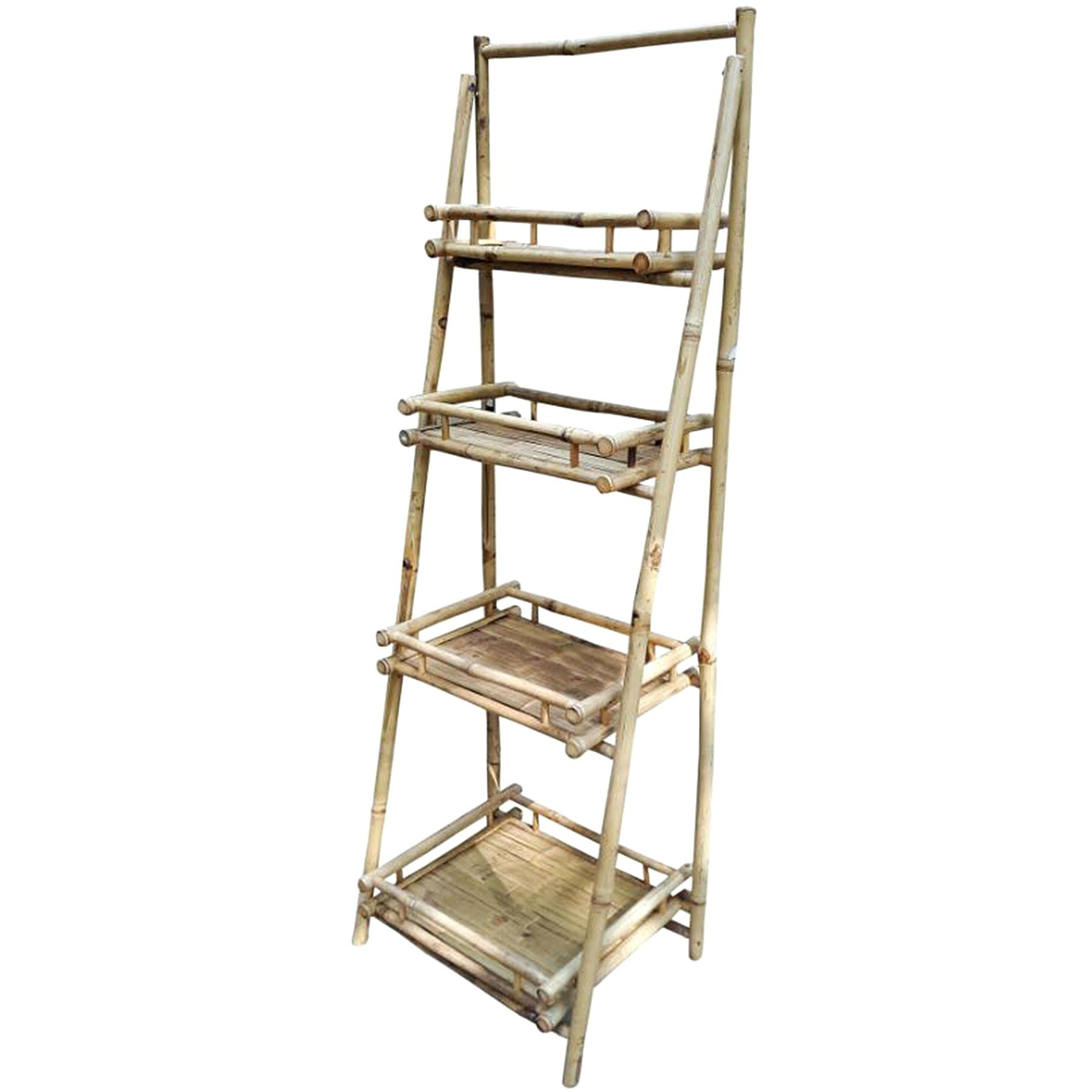 2020 Leandra Ladder Bookcases Within Metal Ladder Shelf – Leanstats.co (Gallery 17 of 20)