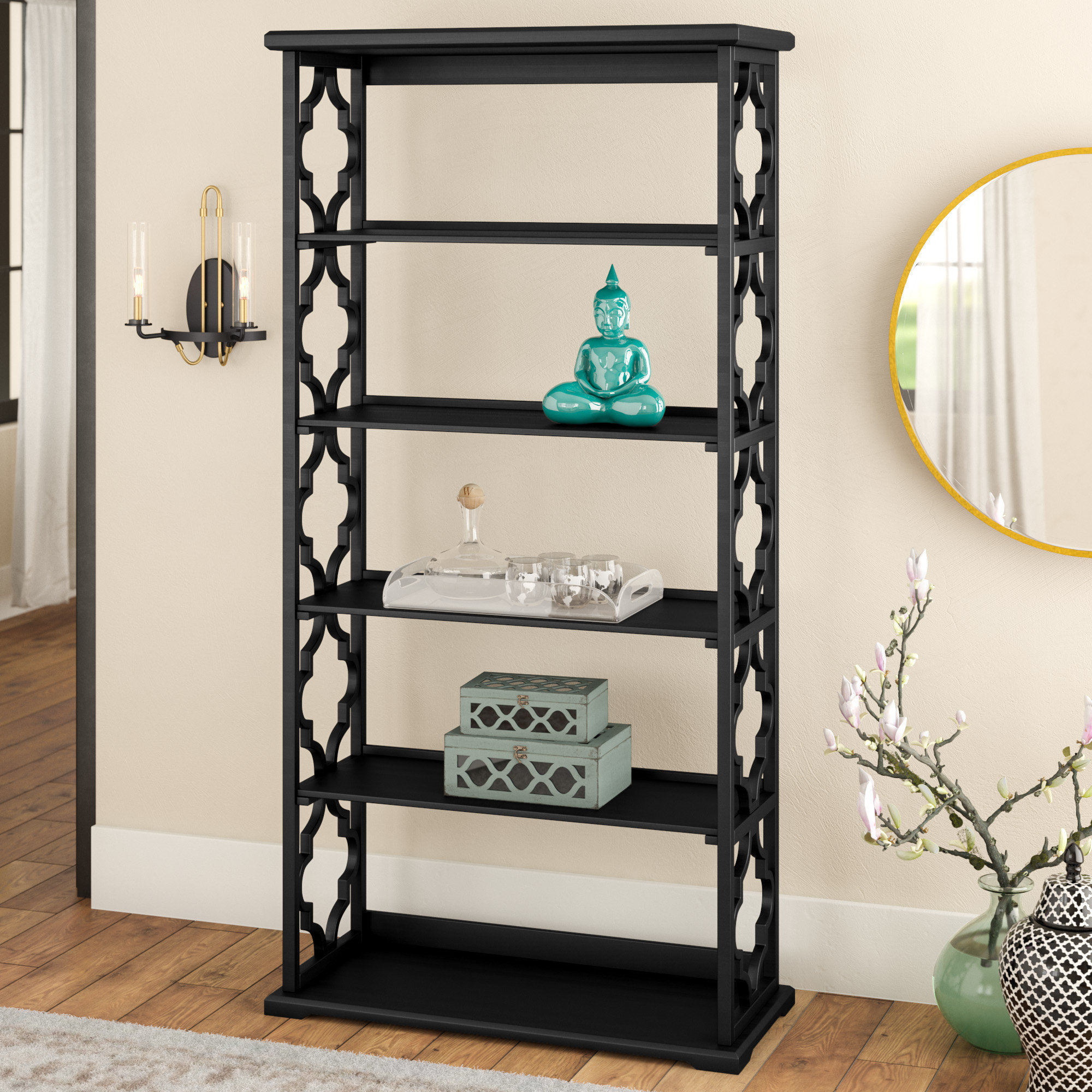 2020 Stoneford Etagere Bookcases With O'Kean Etagere Bookcase (Gallery 15 of 20)