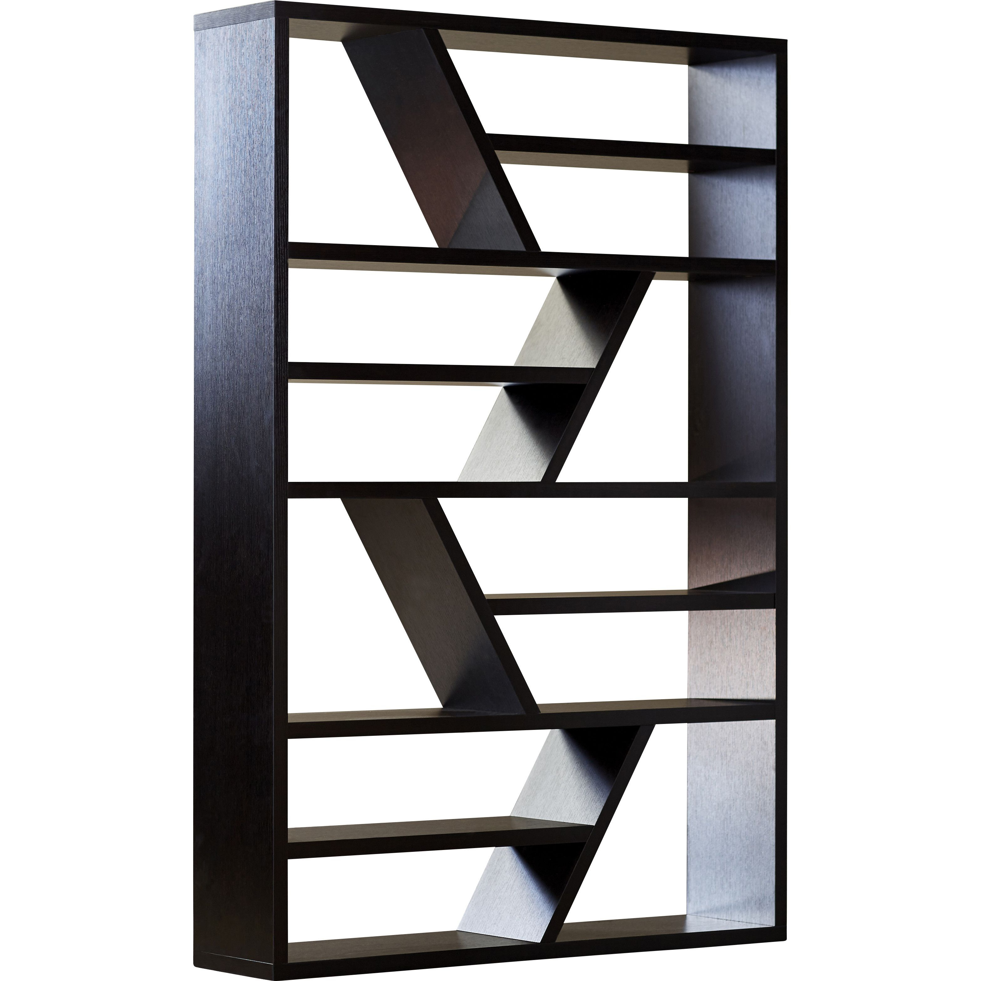 2020 Swarey Geometric Bookcases With Regard To Swarey Geometric Bookcase In  (View 2 of 20)