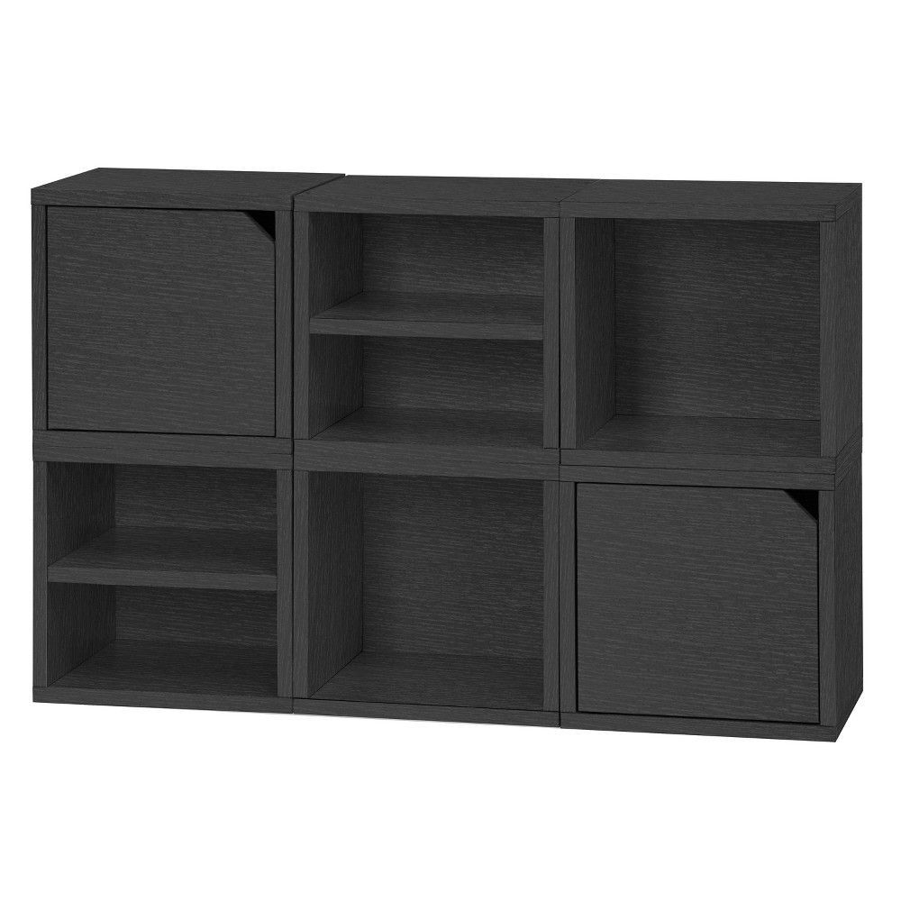 2020 Way Basics 6 Cubby Eco Stackable Connect Cube System Modular Regarding Salina Cube Bookcases (View 19 of 20)