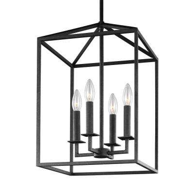 3 Light Lantern Cylinder Pendants Regarding Best And Newest Pendant Lights – Lighting – The Home Depot (View 23 of 25)