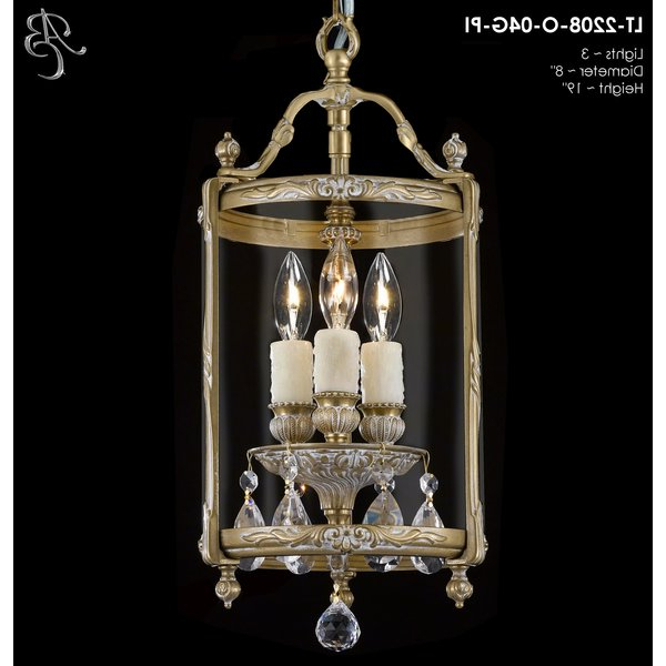 3 Light Lantern Cylinder Pendants Regarding Fashionable Smyth 3 Light Lantern Cylinder Pendantastoria Grand # (View 20 of 25)
