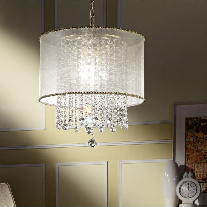 439 Ideas With Popular Aldgate 4 Light Crystal Chandeliers (View 15 of 25)