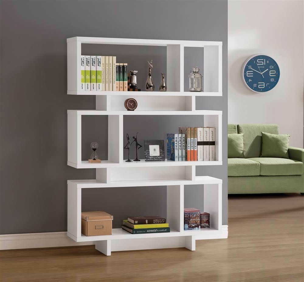 [%47.25 In. Contemporary Geometric Bookcase [Id 3755825 Within Well Known Carnageeragh Geometric Bookcases|Carnageeragh Geometric Bookcases With Regard To Best And Newest 47.25 In. Contemporary Geometric Bookcase [Id 3755825|Current Carnageeragh Geometric Bookcases Within 47.25 In. Contemporary Geometric Bookcase [Id 3755825|Well Known 47.25 In (View 1 of 20)