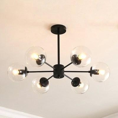 6 Light Globe Chandelier – Luwalcott.co For Latest Joon 6 Light Globe Chandeliers (Gallery 23 of 25)