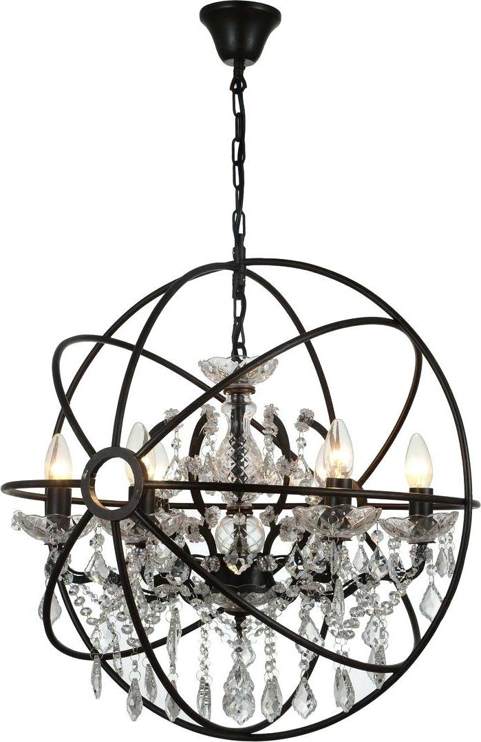 6 Light Globe Chandelier – Luwalcott.co Pertaining To Newest Joon 6 Light Globe Chandeliers (Gallery 14 of 25)