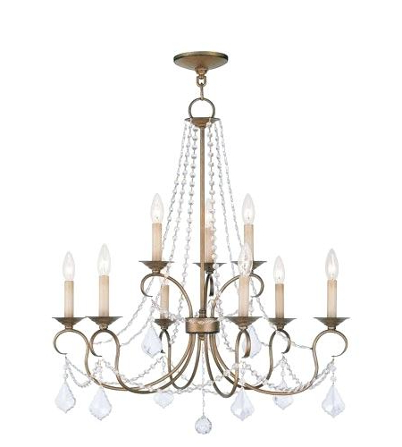 9 Light Chandelier Giverny Candle Style Portfolio Colton For 2018 Giverny 9 Light Candle Style Chandeliers (View 25 of 25)