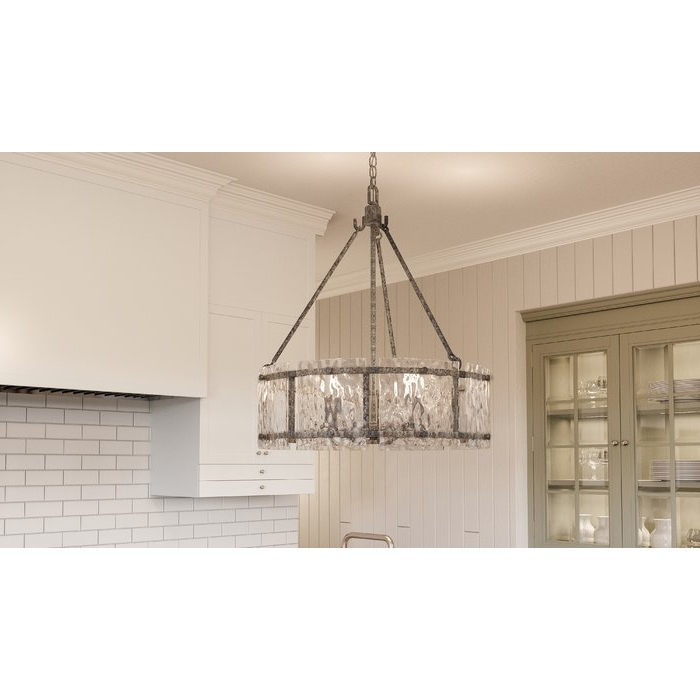 Aadhya 5 Light Drum Chandeliers Intended For Widely Used Hasse 5 Light Drum Chandelier (View 4 of 25)