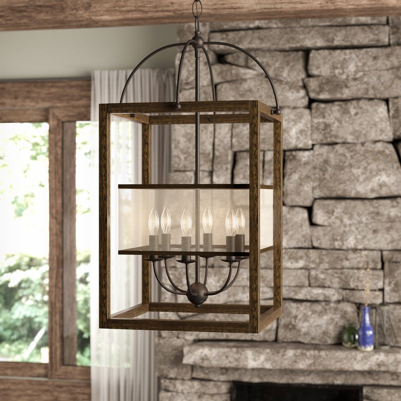 Aadhya 5 Light Drum Chandeliers With Widely Used Aadhya 6 Light Square/rectangle Chandelier (View 11 of 25)