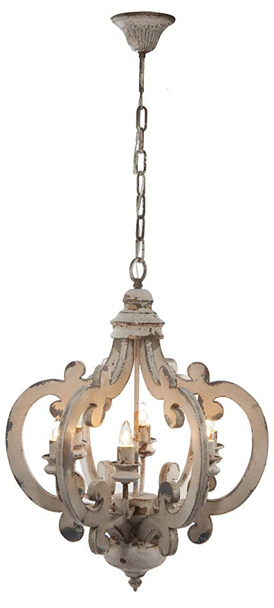 A&b Home Wood And Metal Chandelier,  (View 1 of 25)