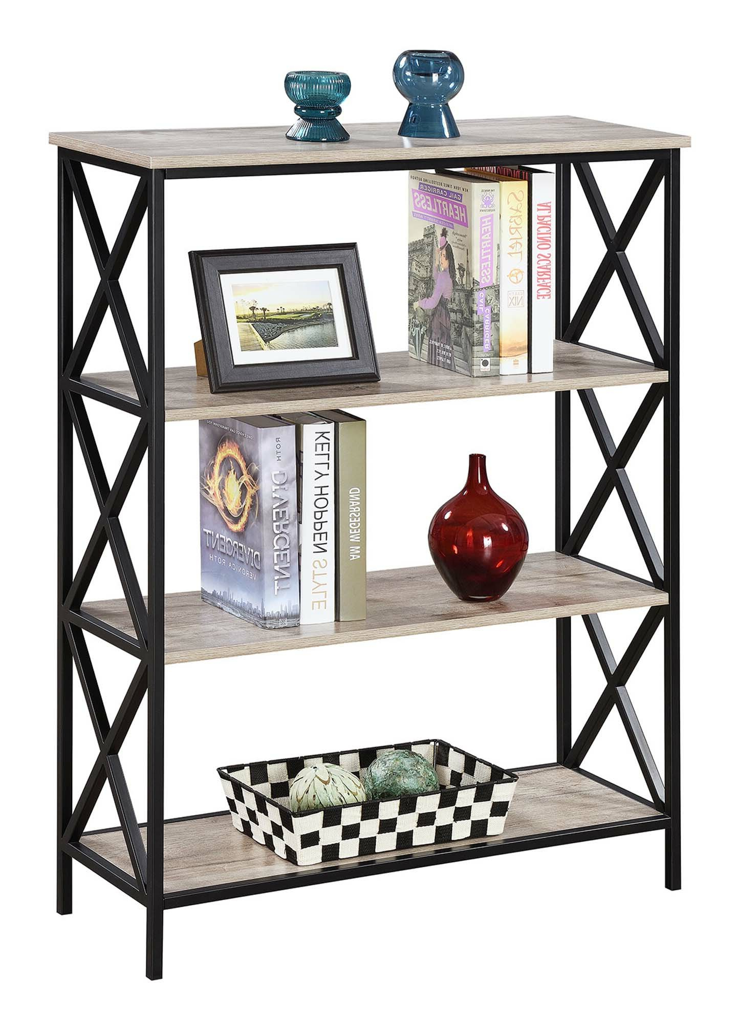Abbottsmoor Etagere Bookcase Inside Recent Adair Etagere Bookcases (View 14 of 20)