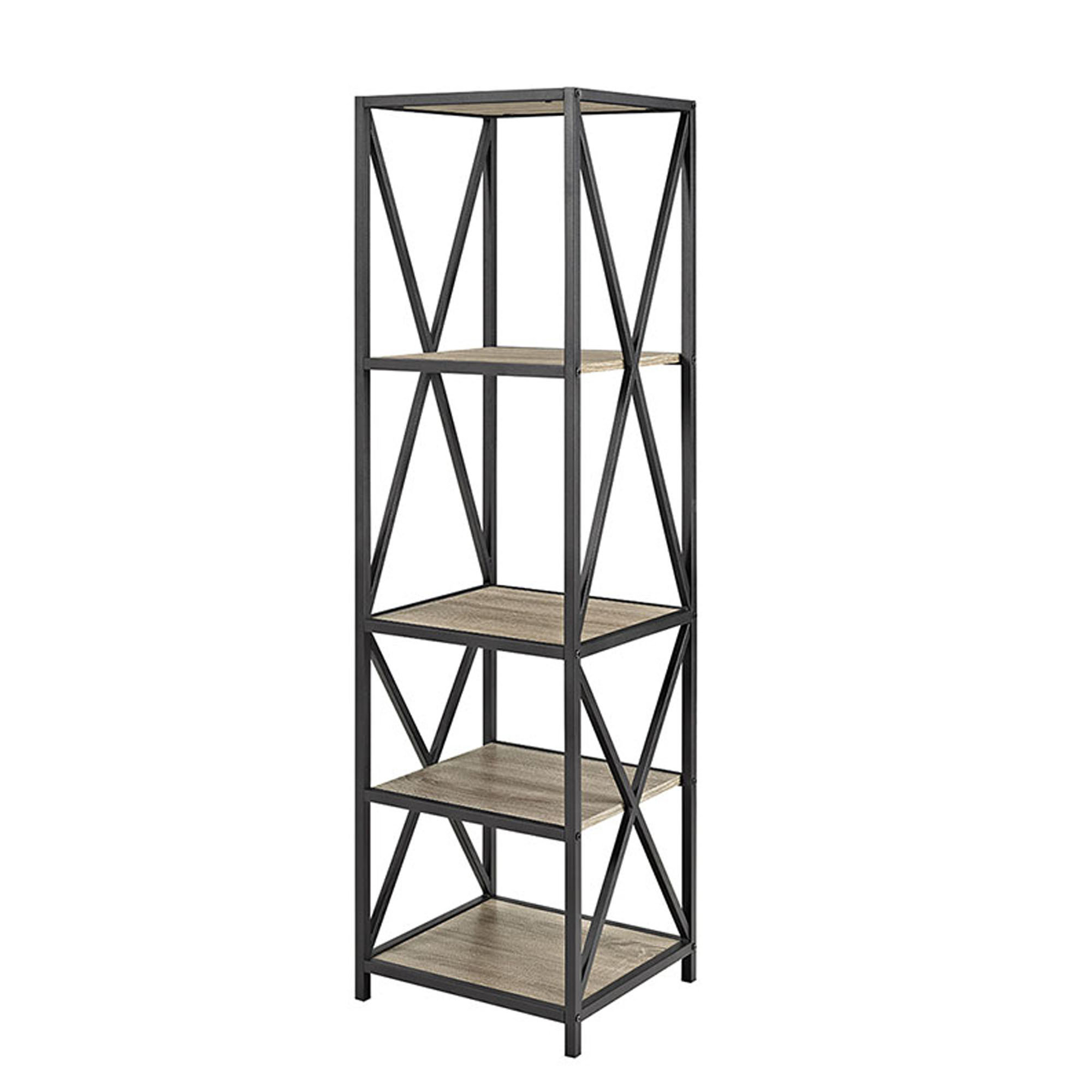 Abbottsmoor Etagere Bookcases With Regard To Fashionable Augustus Etagere Bookcase (View 7 of 20)