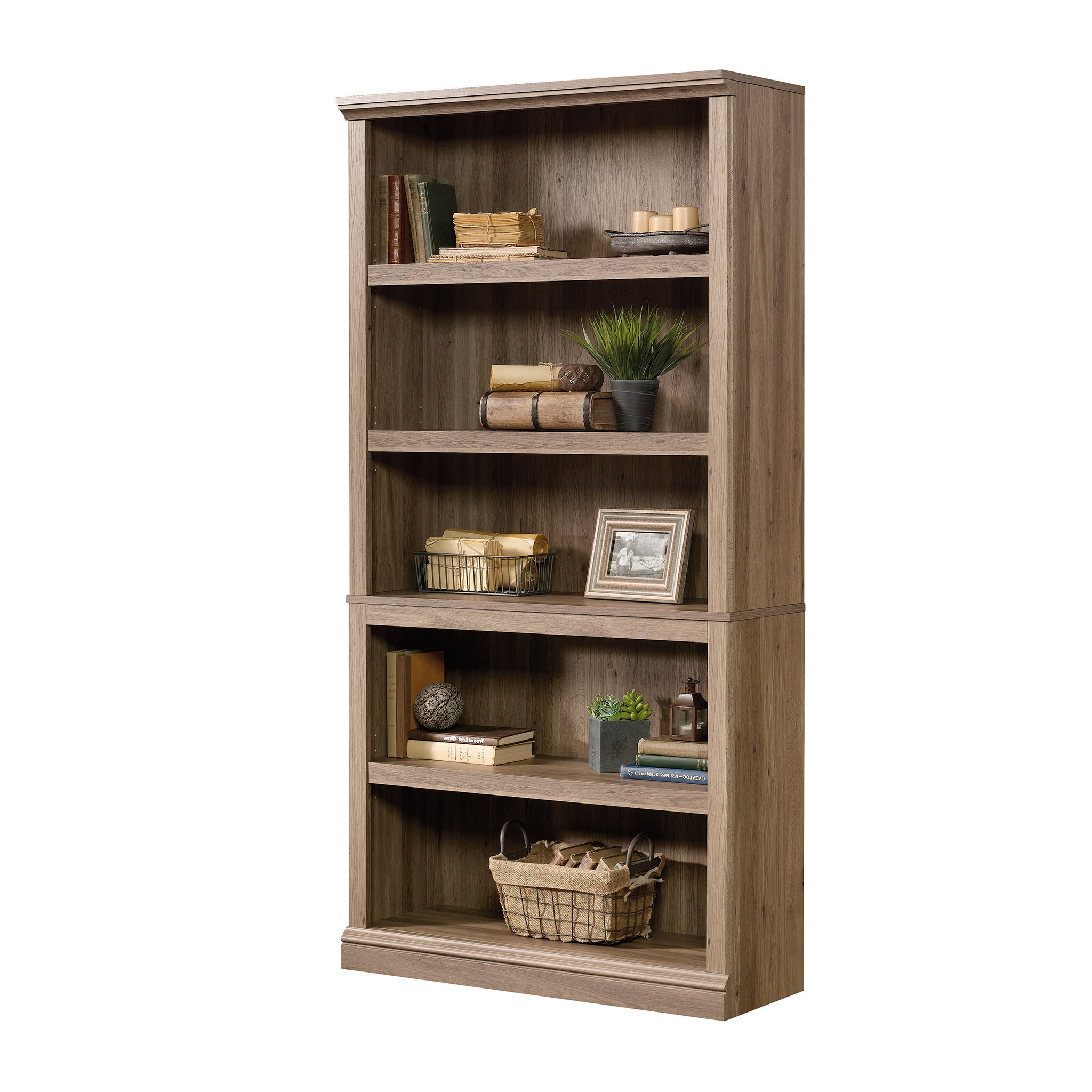 Abigail Standard Bookcase Intended For Newest Salina Standard Bookcases (Gallery 7 of 20)