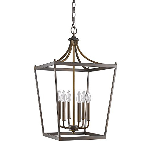 Acclaim Lighting In11134Orb Kennedy Indoor 6 Light Pendant, Oil Rubbed  Bronze Within Most Current Kenedy 9 Light Candle Style Chandeliers (Gallery 14 of 25)