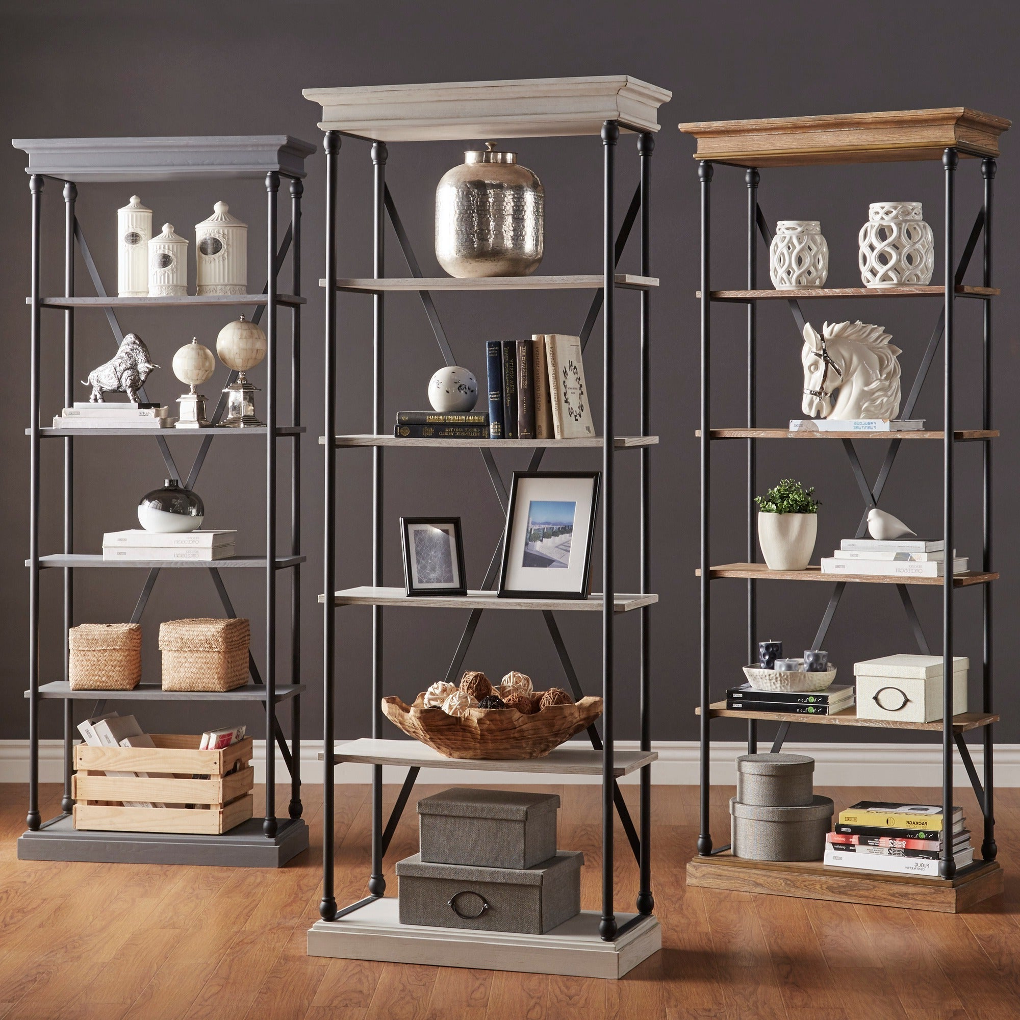 Adair Etagere Bookcases Within Most Popular Barnstone Cornice Etagere Bookcaseinspire Q Artisan (View 12 of 20)
