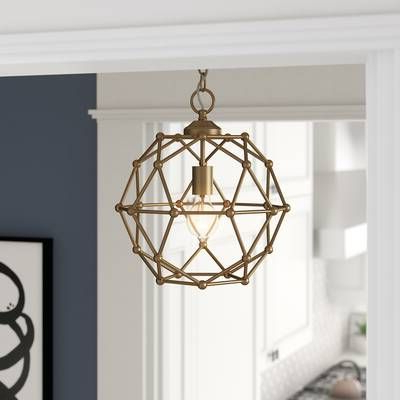 Adorable With Regard To Cavanagh 4 Light Geometric Chandeliers (View 3 of 25)