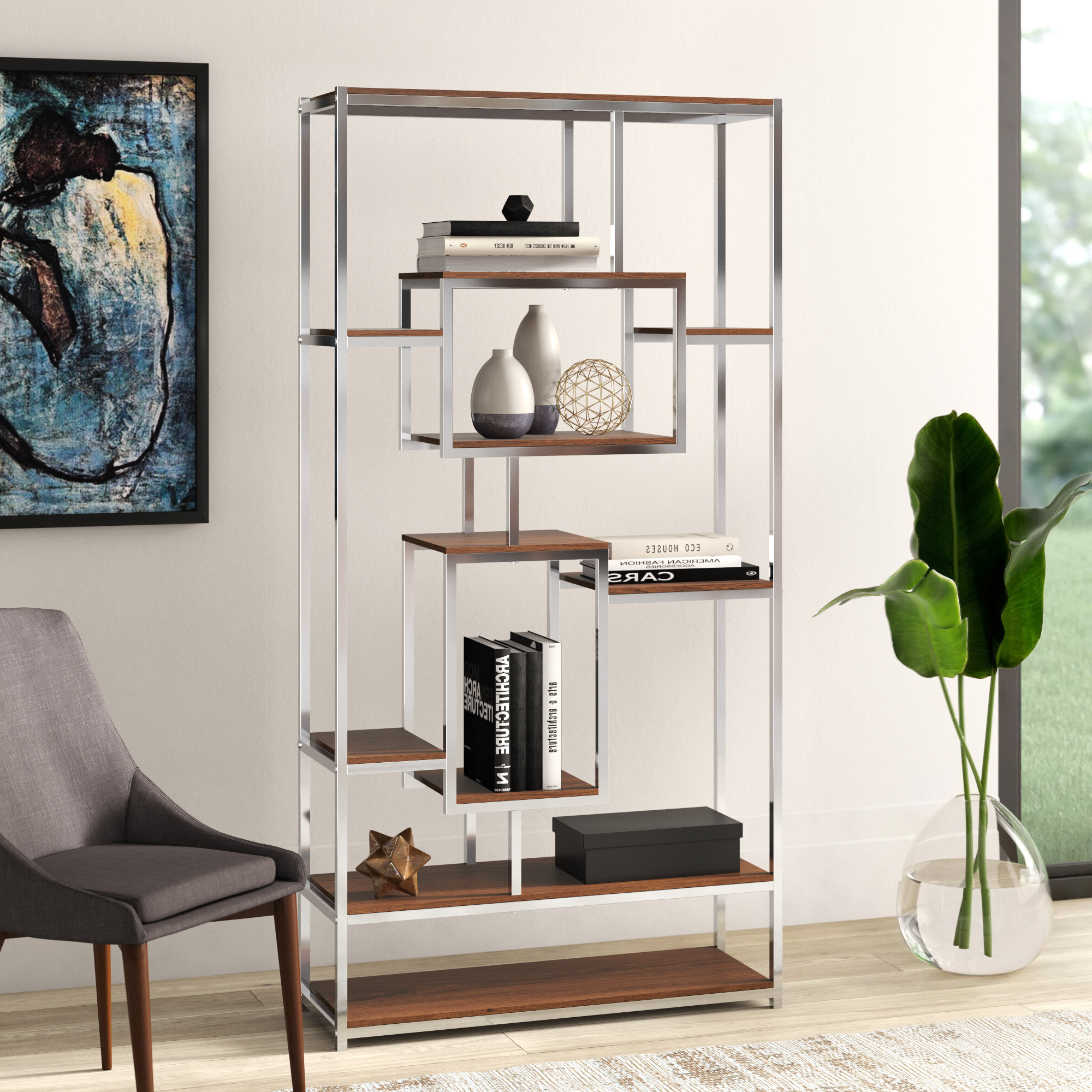 Agatha Etagere Bookcase Throughout Widely Used Agatha Etagere Bookcases (Gallery 1 of 20)