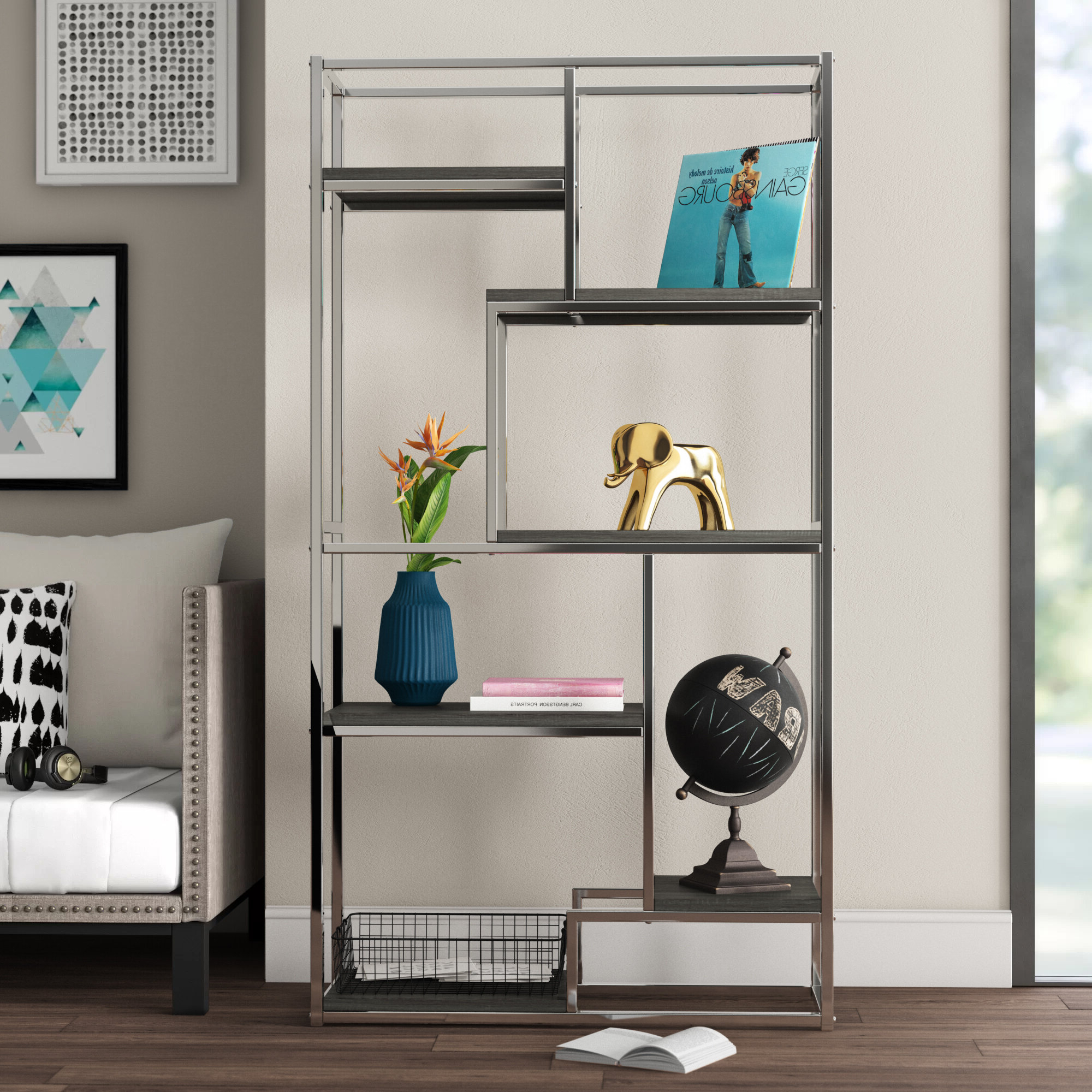 Agatha Etagere Bookcases With Recent Cohan Etagere Bookcase (Gallery 12 of 20)
