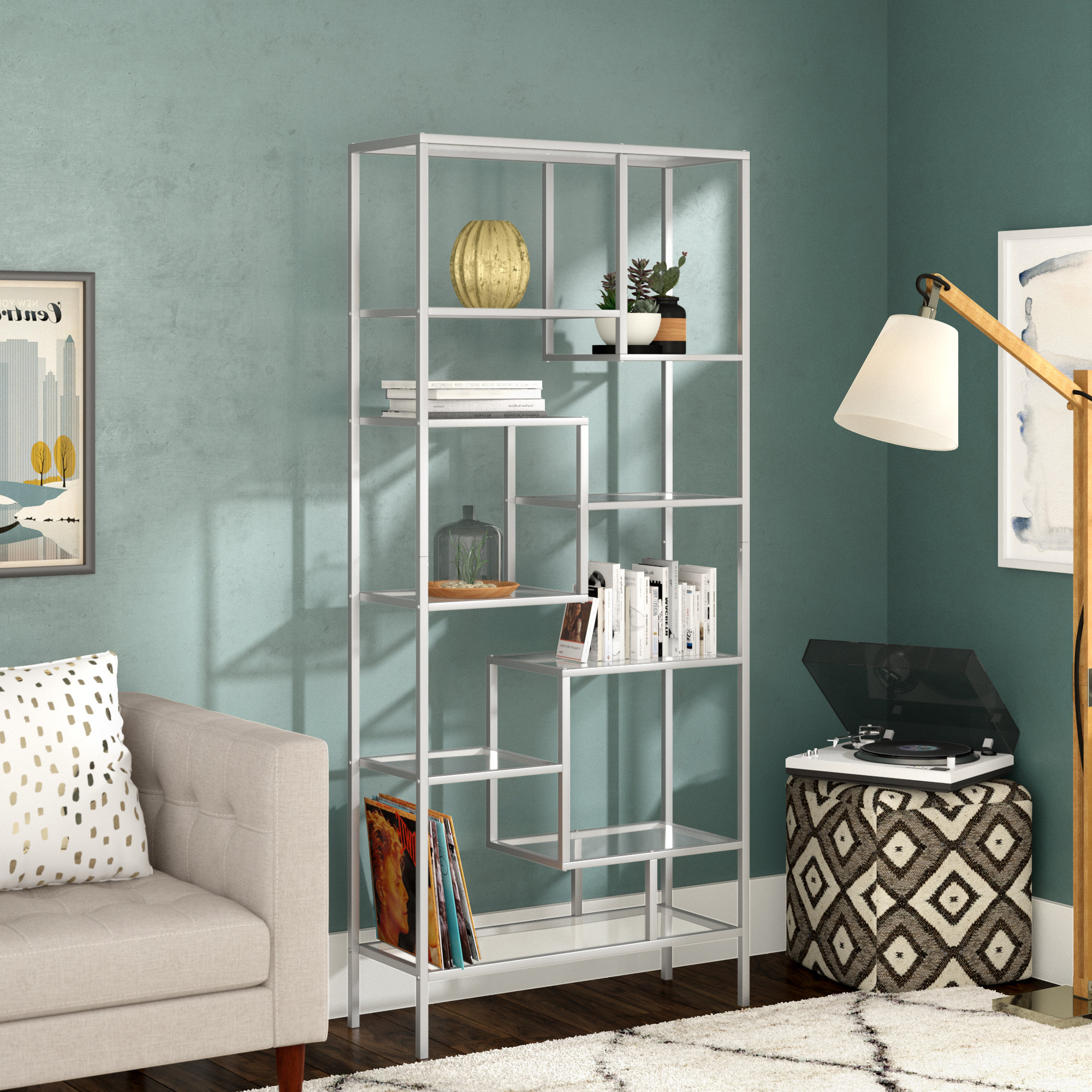 Agatha Etagere Bookcases Within Famous Coss Etagere Bookcase (Gallery 20 of 20)