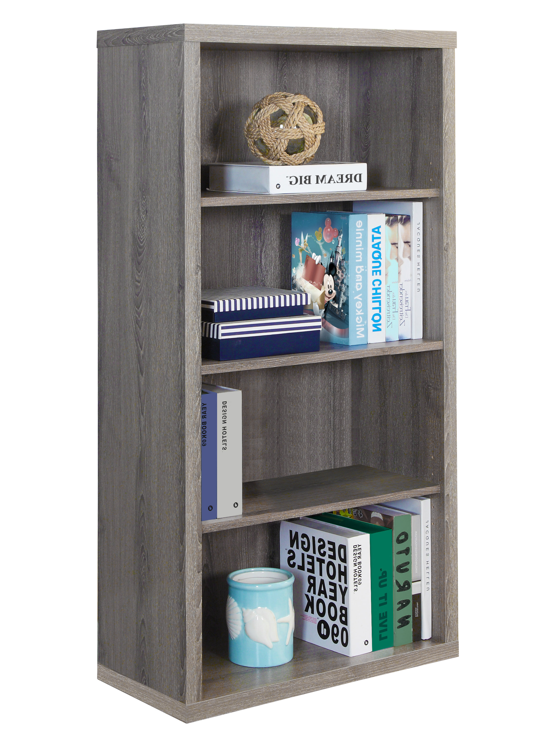 Aguilar Standard Bookcase With Regard To Preferred Kayli Standard Bookcases (Gallery 17 of 20)
