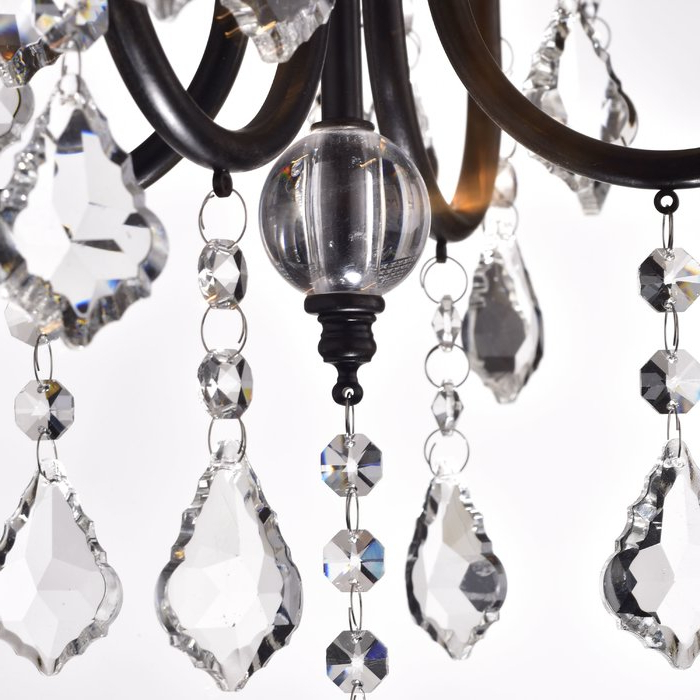Albano 4 Light Crystal Chandeliers With Well Known Albano 4 Light Crystal Chandelier (View 9 of 25)