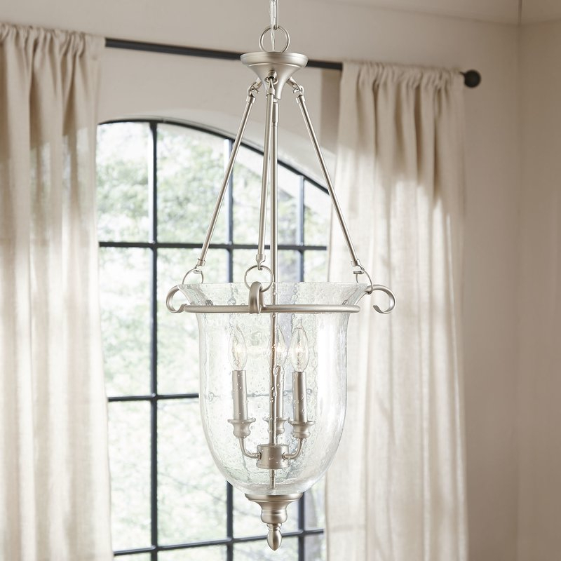 Alden 3 Light Single Globe Pendants Regarding Most Current 3 Light Single Urn Pendant (Gallery 19 of 25)