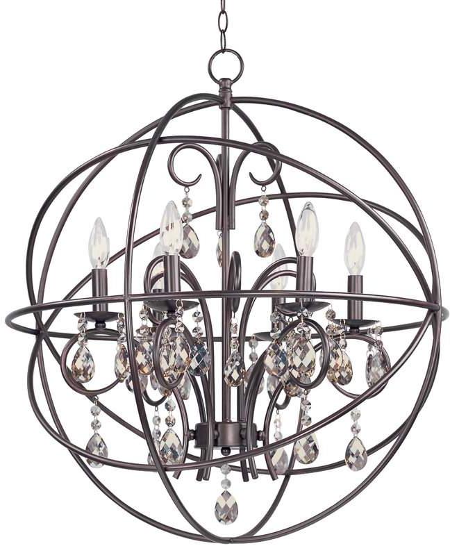 Alden Willa Arlo Interiors 6 Light Globe Chandelier In 2019 Inside Favorite Alden 6 Light Globe Chandeliers (Gallery 17 of 25)