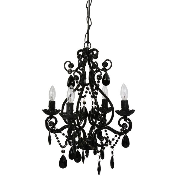 Aldora 4 Light Candle Style Chandelier For Trendy Aldora 4 Light Candle Style Chandeliers (Gallery 1 of 25)