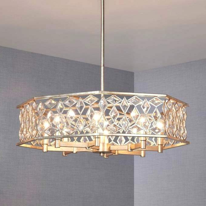 Alina 5 Light Drum Chandeliers Regarding Trendy Drum Light Chandelier – Burgoskennels (View 20 of 25)