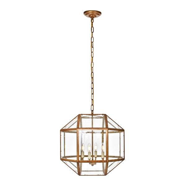 Allmodern Inside Popular Reidar 4 Light Geometric Chandeliers (Gallery 20 of 25)